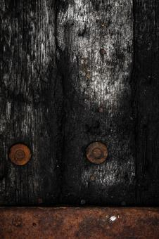 Free Stock Photo of Rotting Wooden Background
