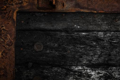 Free Stock Photo of Rotting Wood Frame