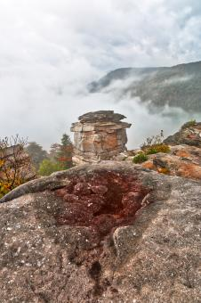 Free Stock Photo of Blackwater Mountain Fog - Lindy Point HDR