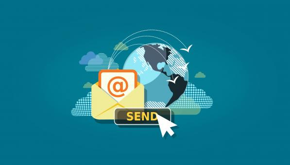 Free Stock Photo of Sending E-Mail - Electronic Mail Communication