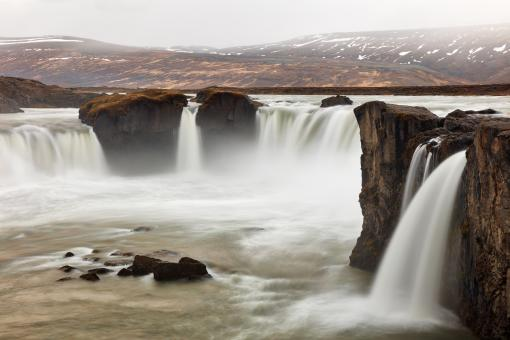 Free Stock Photo of Godafoss