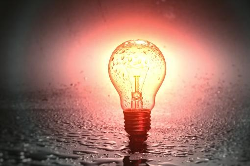 Free Stock Photo of Isolated Light Bulb