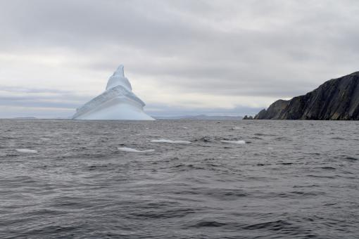 Free Stock Photo of Iceberg Tower Near the Coast