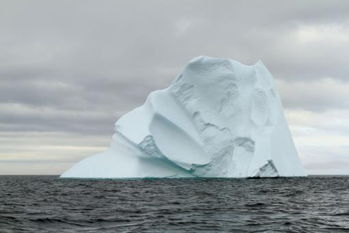 Free Stock Photo of Large Iceberg Along the Newfoundland Coastline