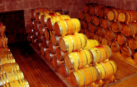 Free Stock Photo of Cellar - Wooden Barrels - Douro and Port Wine Barrels