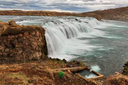 Free Stock Photo of Faxafoss