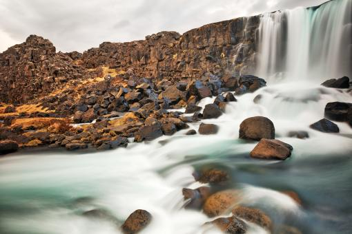 Free Stock Photo of Oxararfoss