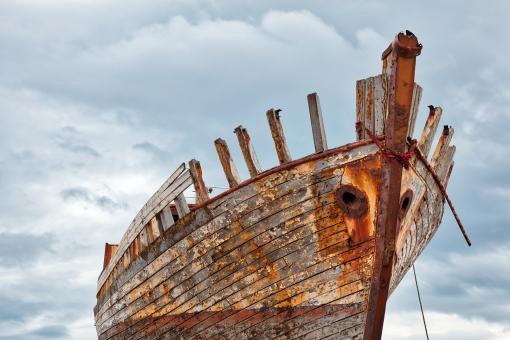 Free Stock Photo of Akranes Shipwreck