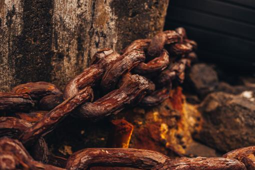 Free Stock Photo of Rusty Chain