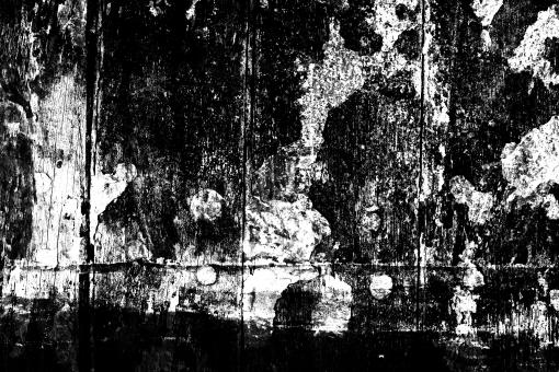 Free Stock Photo of Black and White Grunge Texture