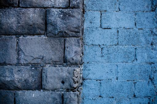 Free Stock Photo of Ashlar Stone and Brick Wall Texture