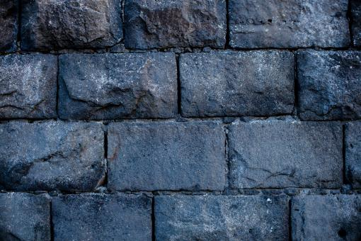 Free Stock Photo of Ashlar Stone Wall Background