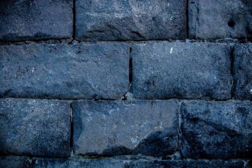 Free Stock Photo of Ashlar Stone Wall Texture