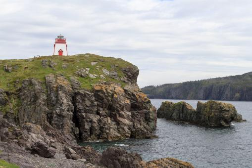 Free Stock Photo of Atlantic Canada lighthouse