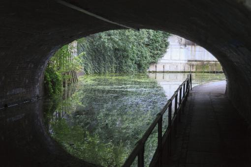 Free Stock Photo of Canal in Camden Town, London