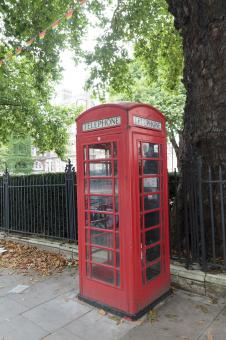 Free Stock Photo of UK Phone Booth