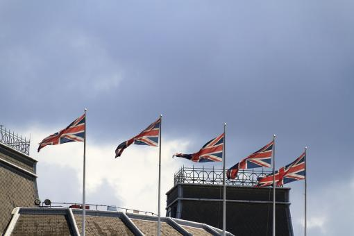 Free Stock Photo of Union Jacks