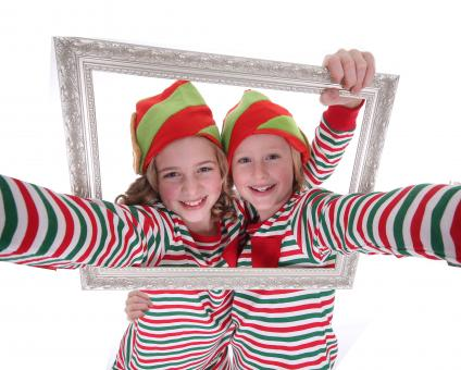 Free Stock Photo of Christmas Crazy Fun