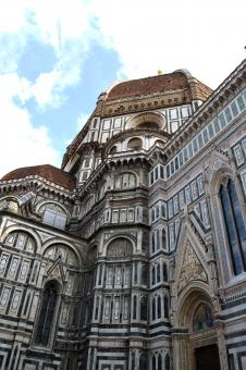 Free Stock Photo of THE BAPTSTIRI SIDE VIEW  FLORENCE