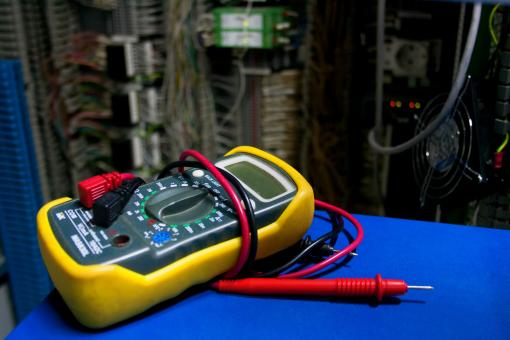 Free Stock Photo of Electric Multimeter