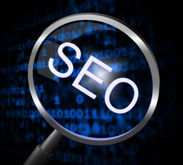 Free Stock Photo of Seo Magnifier Represents Online Website And Optimization