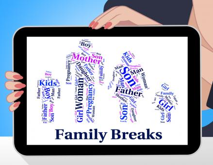 Free Stock Photo of Family Breaks Shows Go On Leave And Families
