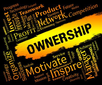 Free Stock Photo of Ownership Words Indicates Possession Title And Possess