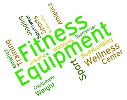 Free Stock Photo of Fitness Equipment Indicates Equipments Words And Text