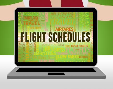 Free Stock Photo of Flight Schedules Means Flights Info And Airline