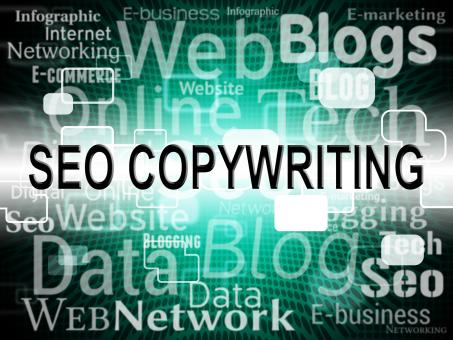 Free Stock Photo of Seo Copywriting Represents Search Engines And Advert