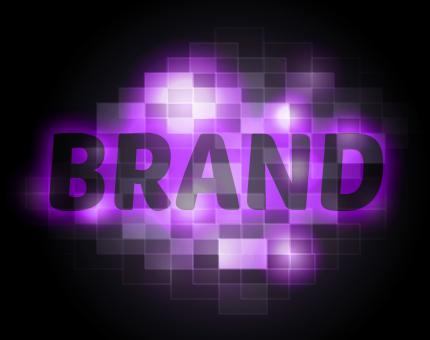 Free Stock Photo of Brand Word Shows Trademark Logo And Brands