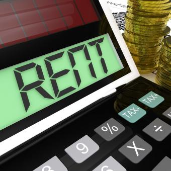 Free Stock Photo of Rent Calculator Means Paying Tenancy Or Lease Costs