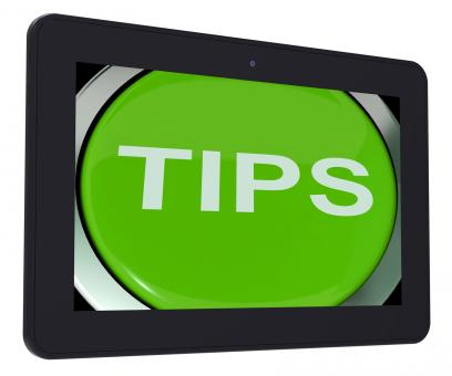 Free Stock Photo of Tips Switch Shows Help Suggestions Or Instructions