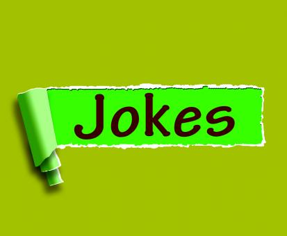 Free Stock Photo of Jokes Word Means Humour And Laughs On Web