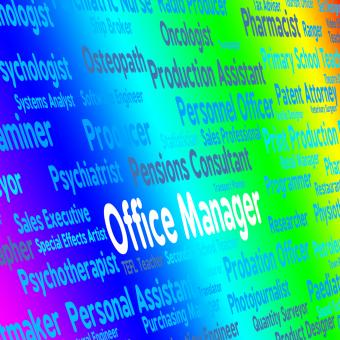 Free Stock Photo of Office Manager Shows Position Proprietor And Overseer
