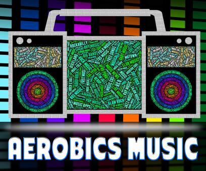 Free Stock Photo of Aerobics Music Means Sound Tracks And Exercise