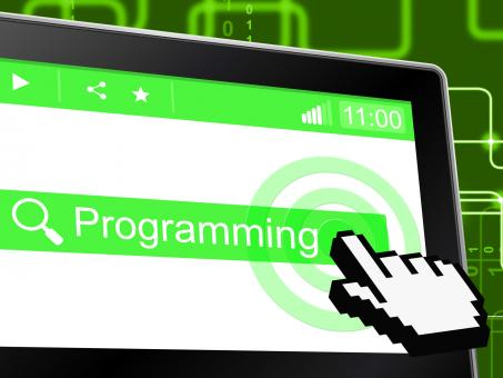Free Stock Photo of Programming Programmer Represents World Wide Web And Development