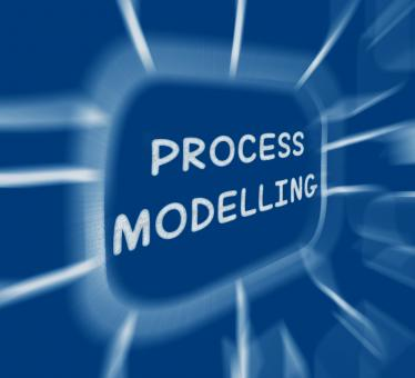 Free Stock Photo of Process Modelling Diagram Displays Representing Business Processes