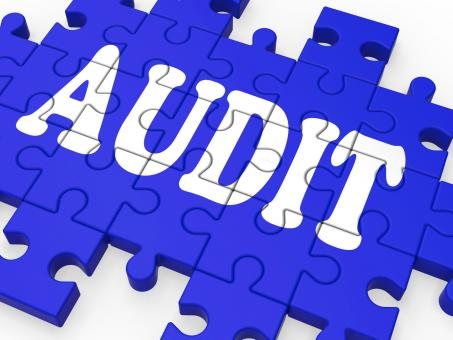 Free Stock Photo of Audit Puzzle Showing Auditor Inspections
