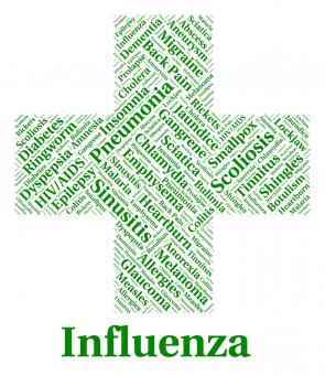 Free Stock Photo of Influenza Sickness Means Poor Health And Afflictions