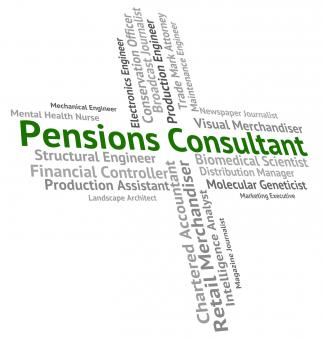 Free Stock Photo of Pensions Consultant Represents Occupation Welfare And Employee