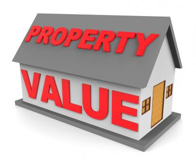 Free Stock Photo of Property Value Shows Current Prices And Cost 3d Rendering