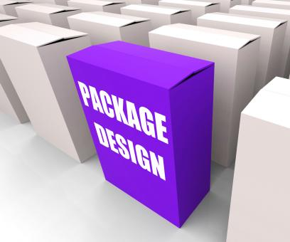 Free Stock Photo of Package Design Box Infers Designing Packages or Containers