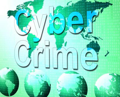 Free Stock Photo of Cyber Crime Shows World Wide Web And Felony