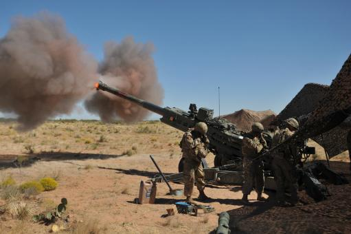 Free Stock Photo of M777 Howitzer Artillery Piece