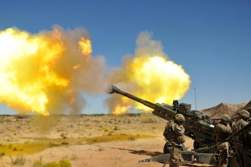 Free Stock Photo of M777 Howitzer Artillery