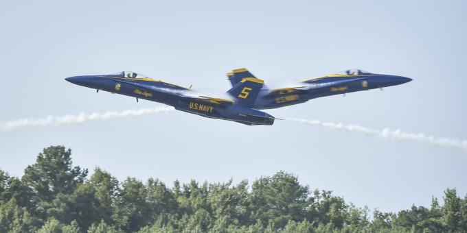 Free Stock Photo of Blue Angels Airshow