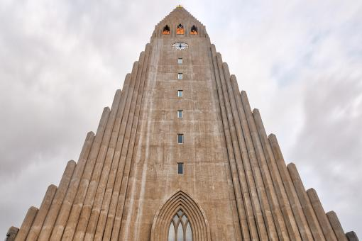 Free Stock Photo of Hallgrimskirkja