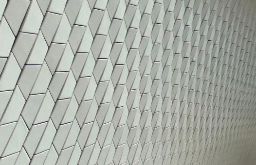 Free Stock Photo of Architectural Ceramic Tiles - Modern Materials - MAAT Museum - Lisbon