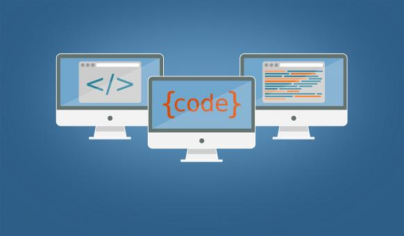 Free Stock Photo of Coding and Programming Illustration